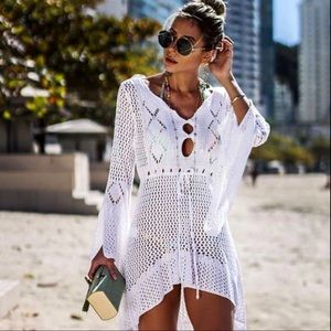 Other - 🆕 HIGH LOW CROCHET COVER UP